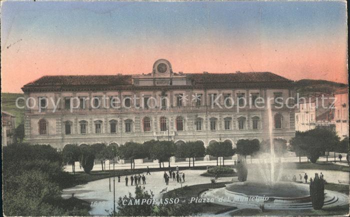 Campobasso Piazza del Municipio Kat. Campobasso