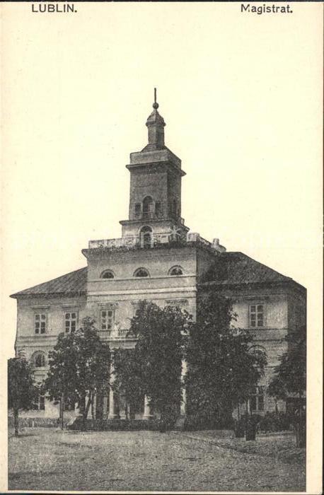 Lublin Lubelskie Magistrat Kat. Lublin