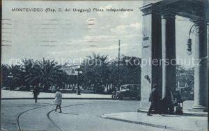 Montevideo Uruguay Plaza Independencia Kat. Montevideo