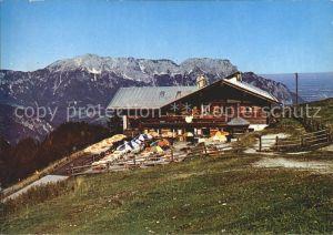 Oberau Berchtesgaden Rossfeld Skihuette Kat. Berchtesgaden
