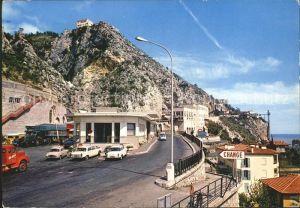 Menton Alpes Maritimes La Frontiere Franco Italienne Kat. Menton