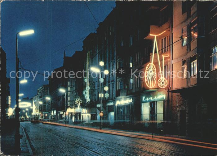 kf85211 Poznan Posen Ulica Czerwonej Armii Kat. Poznan