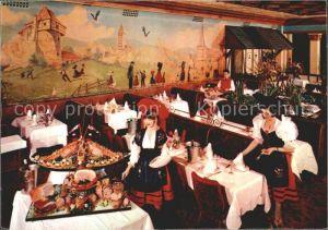 Paris Chez Hansi Grande Brasserie Alsacienne Restaurant Montparnasse Kat. Paris