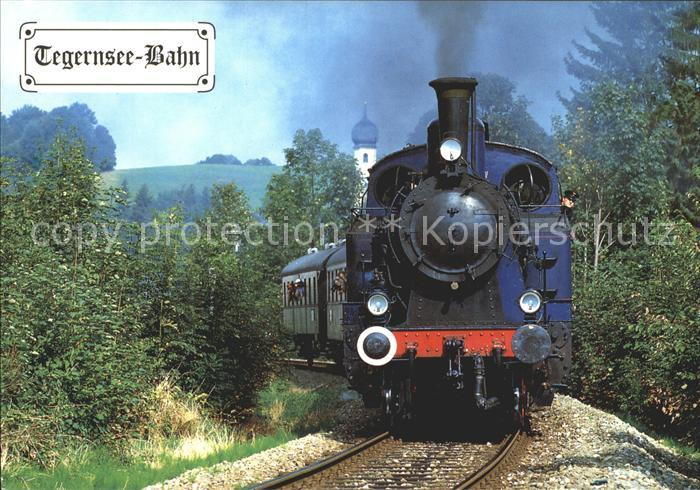 Gmund Tegernsee Tegernsee Bahn Dampflokomotive Kat. Gmund a.Tegernsee