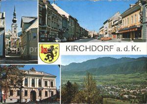 Kirchdorf Krems Teilansichten Rathaus Strassenpartie Kat. Kirchdorf an der Krems