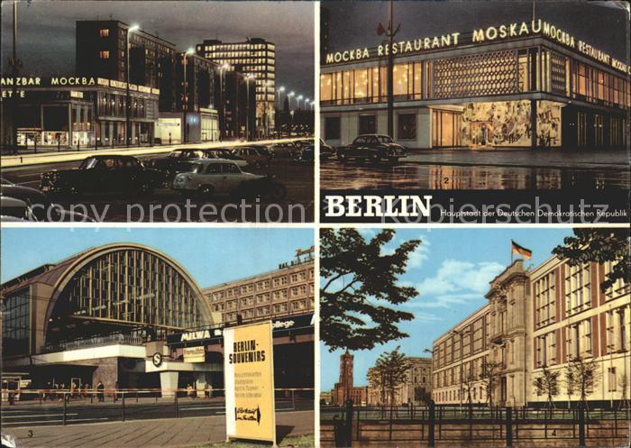 berlin karl marx allee cafe moskau kat berlin nr kt19173 oldthing ansichtskarten. Black Bedroom Furniture Sets. Home Design Ideas