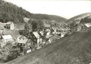 Fehrenbach Thueringer Wald Ortsansicht Kat. Masserberg