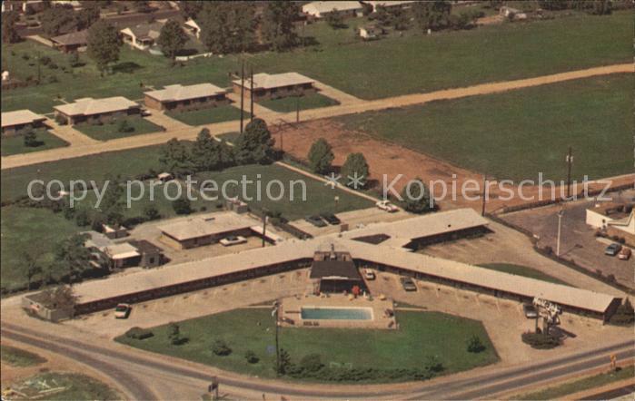 West Memphis Mari Jes Motel aerial view Kat. West Memphis