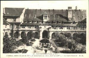 Fontevraud l Abbaye Abbay fondee XI siecle Cour d honneur Kat. Fontevraud l Abbaye