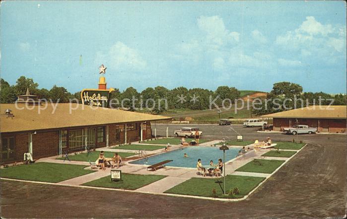 Ozark Alabama Holiday Inn Motel Swimming Pool Kat. Ozark