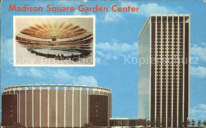 New York City Madison Square Garden Center Entertainment Center Skyscraper / New York /