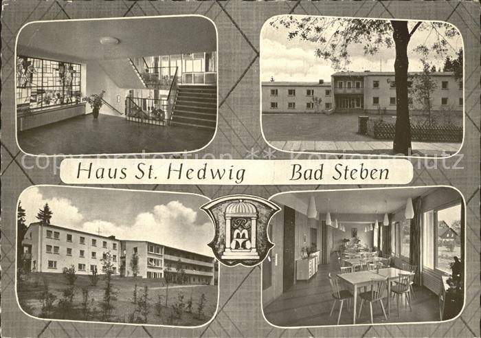 Bad Steben Haus St Hedwig Muettergenesungsheim Kat. Bad Steben