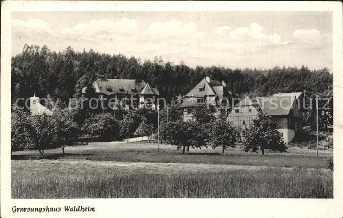 Obernzenn Genesungsheim Waldheim Kat. Obernzenn