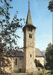 Zillis Schamsertal Kirche Kat. Zillis