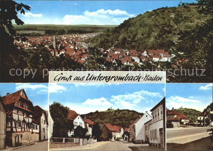 Untergrombach Alter Ortsteil Fachwerkhaus Kat. Bruchsal