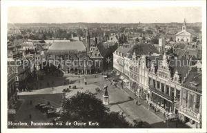 Haarlem Panorama v.a. de Grote Kerk Monument Kat. Haarlem