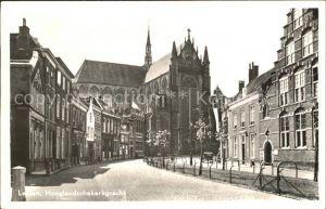Leiden Hooglandschekerkgracht Kat. Leiden