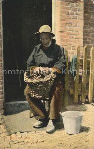 Scheveningen De oude Visscher Alter Fischer Kat. Scheveningen