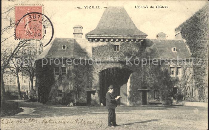 Vizille Entree du Chateau Kat. Vizille