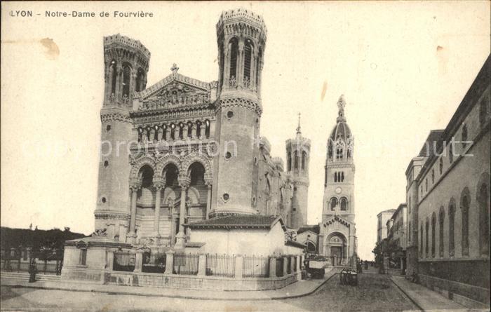 Lyon France Notre Dame de Fourviere Kat. Lyon