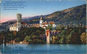 Hautecombe Abbaye fondee par Saint Bernard vers 1125 Lac du Bourget Kat. Saint Pierre de Curtille