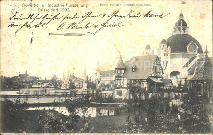 Duesseldorf Gewerbe und Industrie Ausstellung Hauptindustriehalle Kat. Duesseldorf