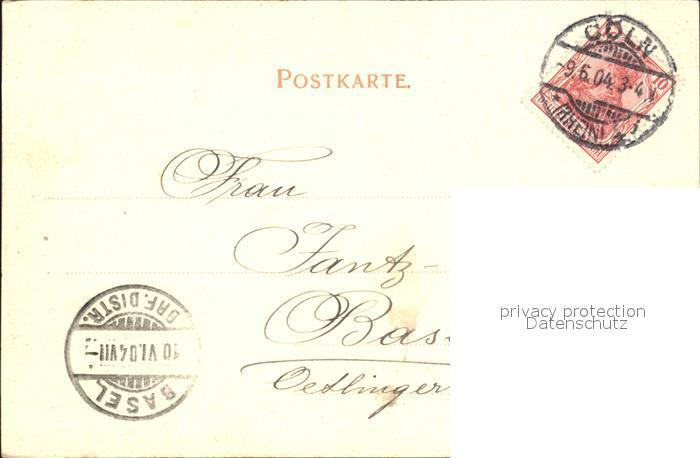 Koeln Rhein Porta Paphia Kat Koeln Nr Sv54801 Oldthing
