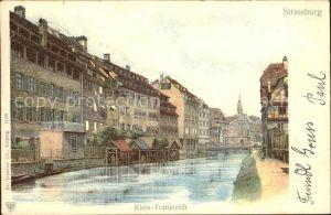 Strassburg Elsass Klein Frankreich Kat. Strasbourg