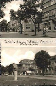 Wittenberge Prignitz Bahnstrasse Denkmal Bueste Kat. Wittenberge