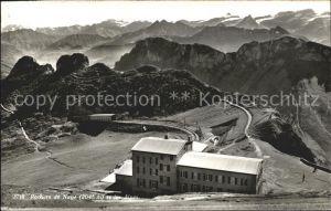 Rochers de Naye et les Alpes Hotel Bergbahn Kat. Rochers de Naye