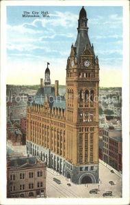 Milwaukee Wisconsin City Hall Kat. Milwaukee