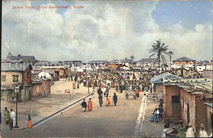 Accra James Town Union Anniversary Kat. Accra