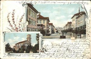 Heiden AR Kirche Poststrasse Kat. Heiden