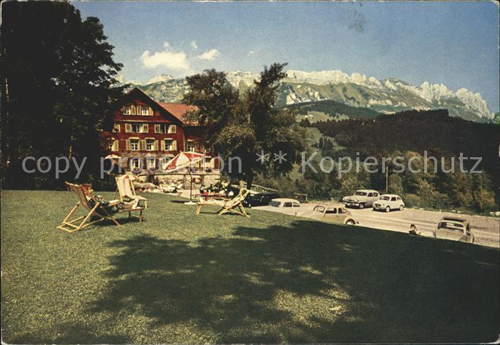 Grabserberg Badekurhaus Naturschwefelbad Alpenblick Kat. Grabserberg
