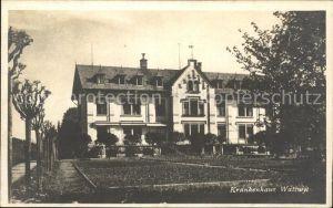 Wattwil Krankenhaus Kat. Wattwil