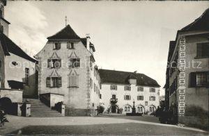 Maienfeld Ortspartie Kat. Maienfeld