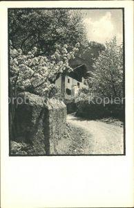 Malans GR Wohnhaus Kat. Malans