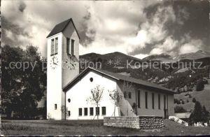 Lenk Simmental Neue Kirche Kat. Lenk Simmental