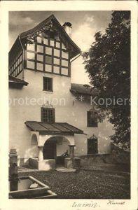 Luzein Haus Brunnen Serie