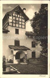 Luzein Haus am Brunnen Serie
