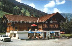 Lenk Simmental Gasthaus Pension Edelweiss Kat. Lenk Simmental
