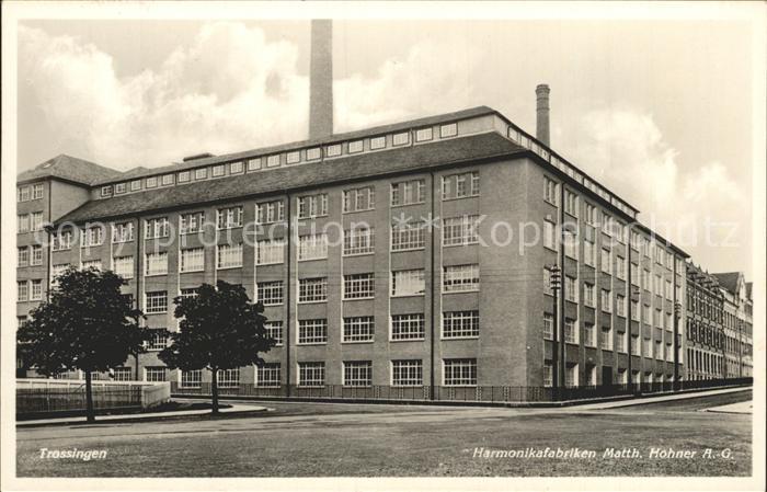 Trossingen Harmonikafabriken Matth. Hohner AG / Trossingen /Tuttlingen LKR