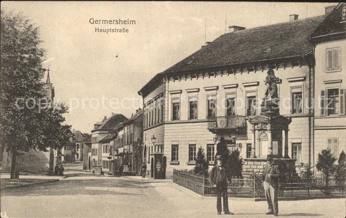 Germersheim Hauptstrasse / Germersheim /Germersheim LKR