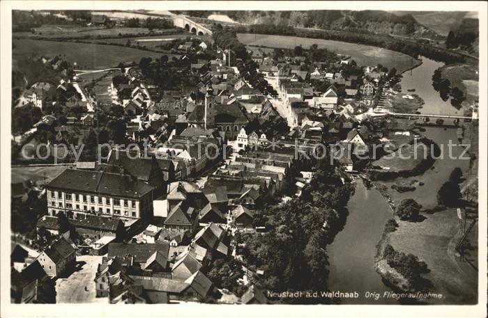 Neustadt Waldnaab Fliegeraufnahme / Neustadt a.d.Waldnaab /Neustadt Waldnaab LKR