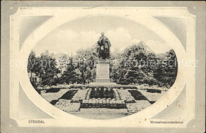 Stendal Winkelmanndenkmal / Stendal /Stendal LKR