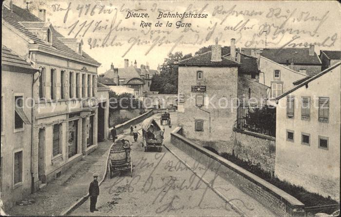 Dieuze Bahnhof  / Dieuze /Arrond. de Chateau-Salins
