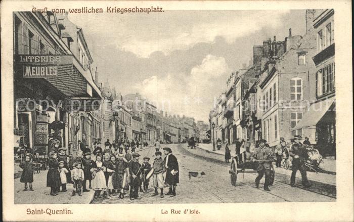 Saint-Quentin La Rue d Isle  / Saint-Quentin /Arrond. de Saint-Quentin