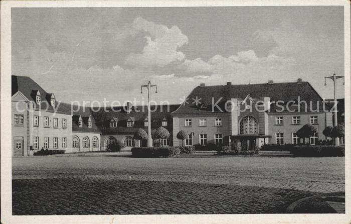 Neu Bentschen Zbaszynek Bahnhofswirtschaft  / Zbaszynek /Swiebodzin