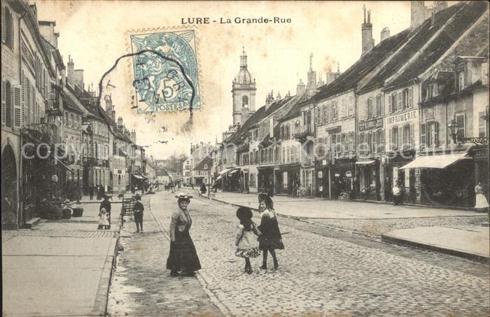 Lure grande rue nr 444436117 oldthing ansichtskarten for Lure haute saone