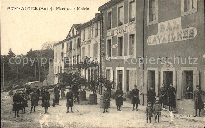 Pennautier Place Mairie / Pennautier /Arrond. de Carcassonne